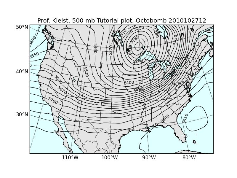 AOSC 470/600 Synoptic Meteorology 1 - Python Tutorial 1 - Intro